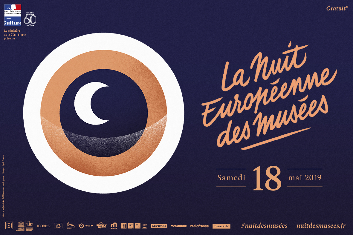 Affiche Nuit europeenne des musees 2019 60x40 JPG